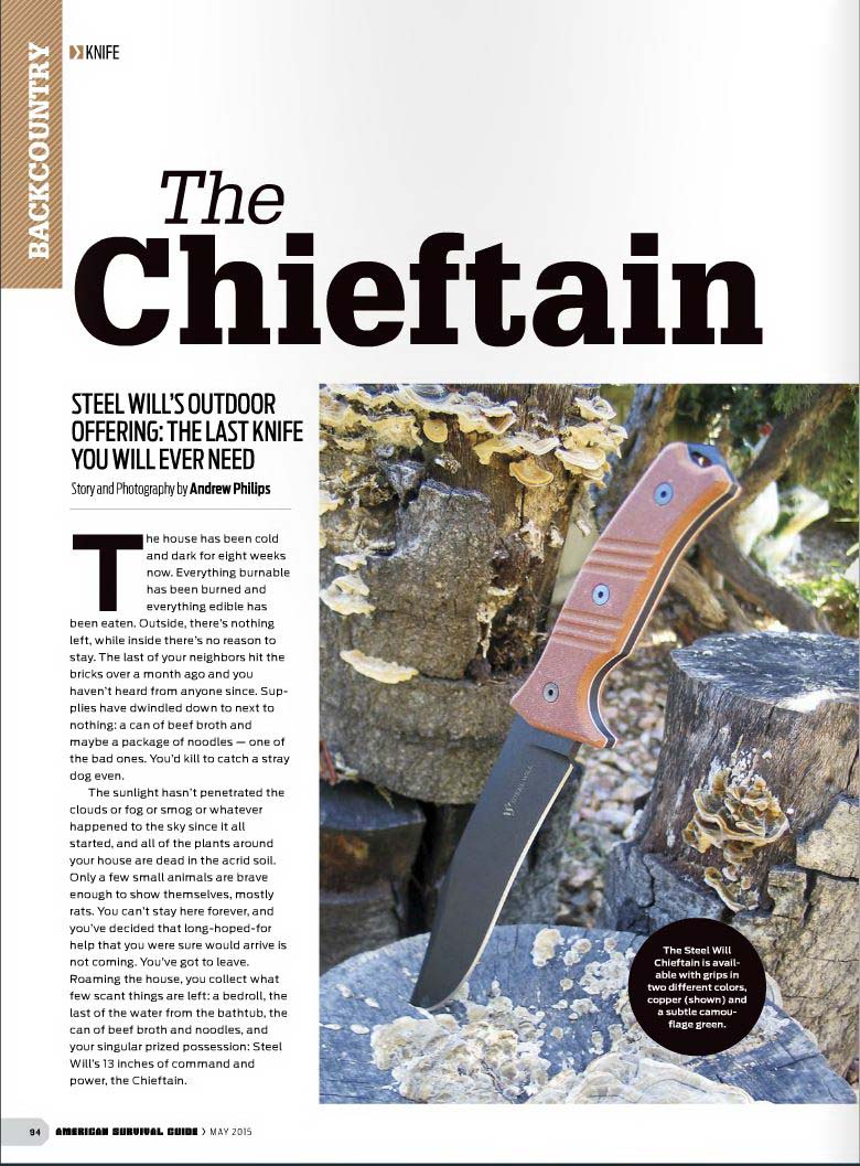 Steel Will Chieftain 1620